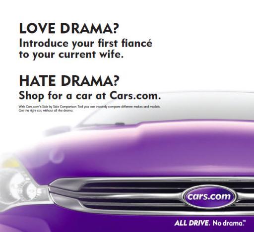 Cars.com Print Ad