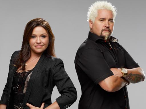 Rachael Ray and Guy Fieri Host Celebrity Cook-Off