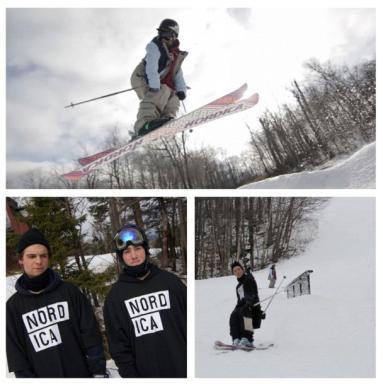 Crosstrek Run Free Skiers