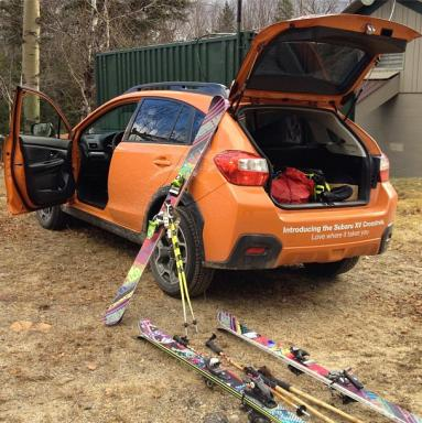 XV Crosstrek & Nordica skis