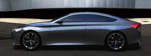 2014 Hyundai Genesis Side View
