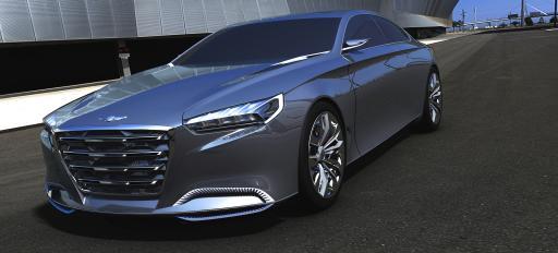 2014 Hyundai Genesis Front View