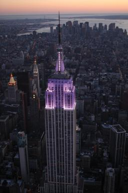 Empire State Building To Be Lit Purple To Honor Babies Born Too Soon