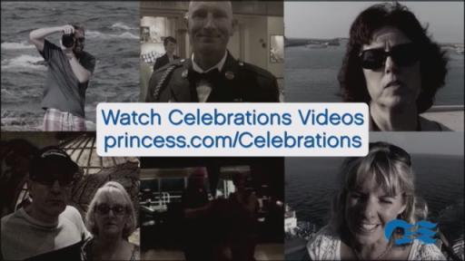 Celebrate with Princess Cruises