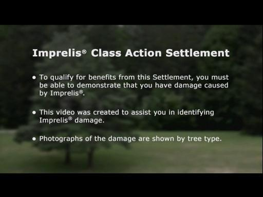 Video Showing Imprelis® Damage