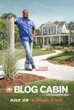 Host Chris Grundy Showcases DIY Network's Finished Blog Cabin