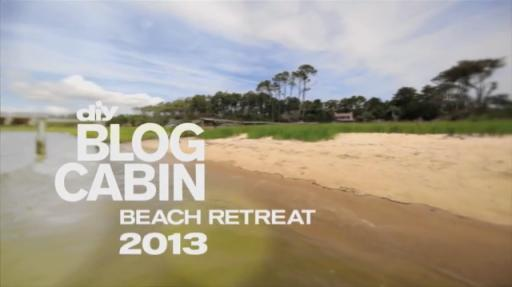 "Tour of Blog Cabin Location – Blog Cabin 2013 is set in Atlantic, N.C. on the ""Crystal Coast"""