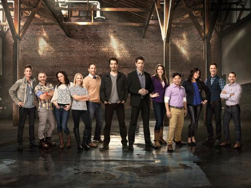 Hgtv S Popular Property Brothers Face Off In New Home