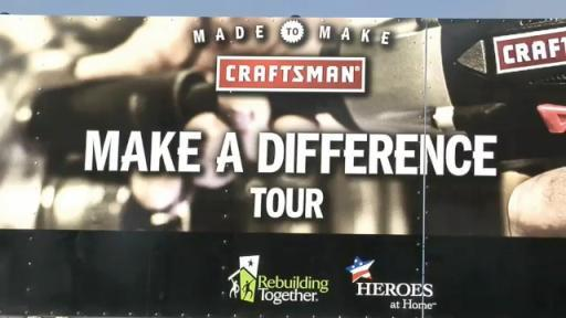 Craftsman Make A Difference Tour Sturgis Vet Center Rebuild Event