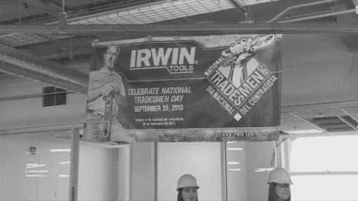 IRWIN Celebrates Tradesmen on National Tradesmen Day