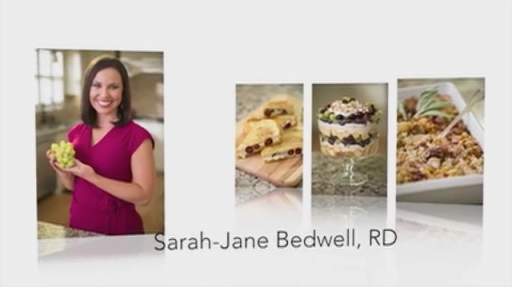 Sarah-Jane Bedwell, RD: Grapes from California – The One Ingredient That Can Change Everything