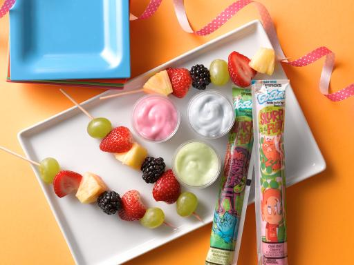 Fruit Skewers with Go-GURT