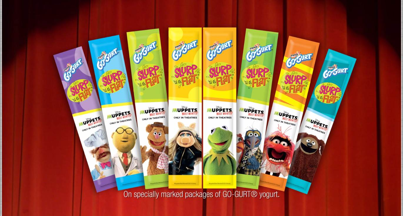 Yoplait® Go-GURT® Celebrates The Muppets' World Tour in Disney's Muppets Most Wanted
