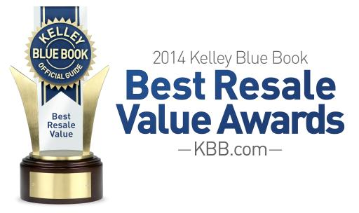2014 Best Resale Value Awards Logo