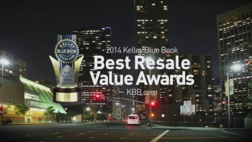 2014 KBB.com Best Resale Value Awards