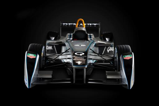 New Formula E Race Car (Front)
