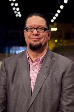 Penn Jillette, contestant on Rachael vs. Guy: Celebrity Cook-Off