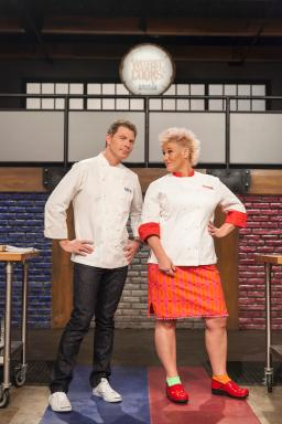 Bobby Flay and Anne Burrell face off in Worst Cooks in America