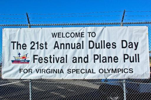 PR Newswire at Dulles Plane Pull Benefitting Virginia Special Olympics