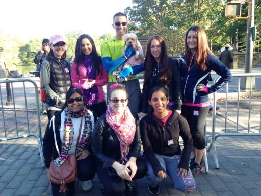 PR Newswire at Making Strides Against Breast Cancer in Central Park