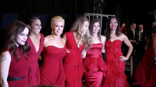 0447288112e Go Red For Women® The Heart Truth® Red Dress Collection℠ 2014 presented by  Macy s and SUBWAY®