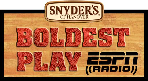 Snyder's of Hanover and ESPN #BoldestPlay