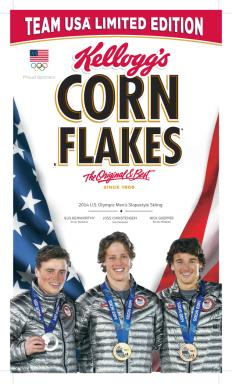 Special-Edition Kellogg's Corn Flakes box