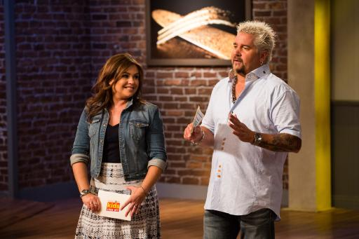Mentors Rachael Ray and Guy Fieri