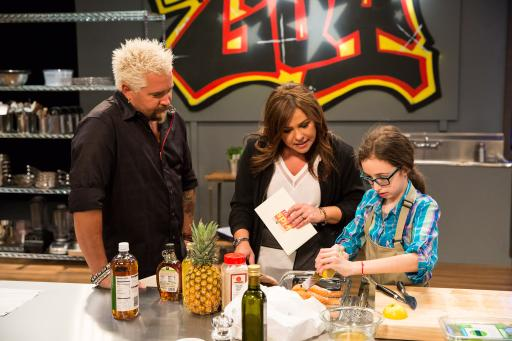Guy Fieri and Rachael Ray Mentor Kidtestant Lauren Zilberman
