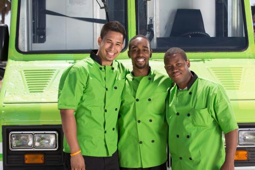 Team Gourmet Grads, Competitor on Season 5 of The Great Food Truck Race