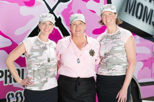 Team Military Moms, Competitor on Season 5 of The Great Food Truck Race