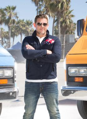 Host Tyler Florence on Season 5 of The Great Food Truck Race