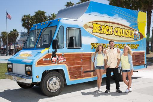 Team Beach Cruiser, Competitor on Season 5 of The Great Food Truck Race