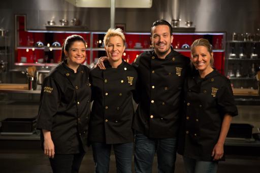 Cutthroat Kitchen: Superstar Sabotage Heat Four Contestants