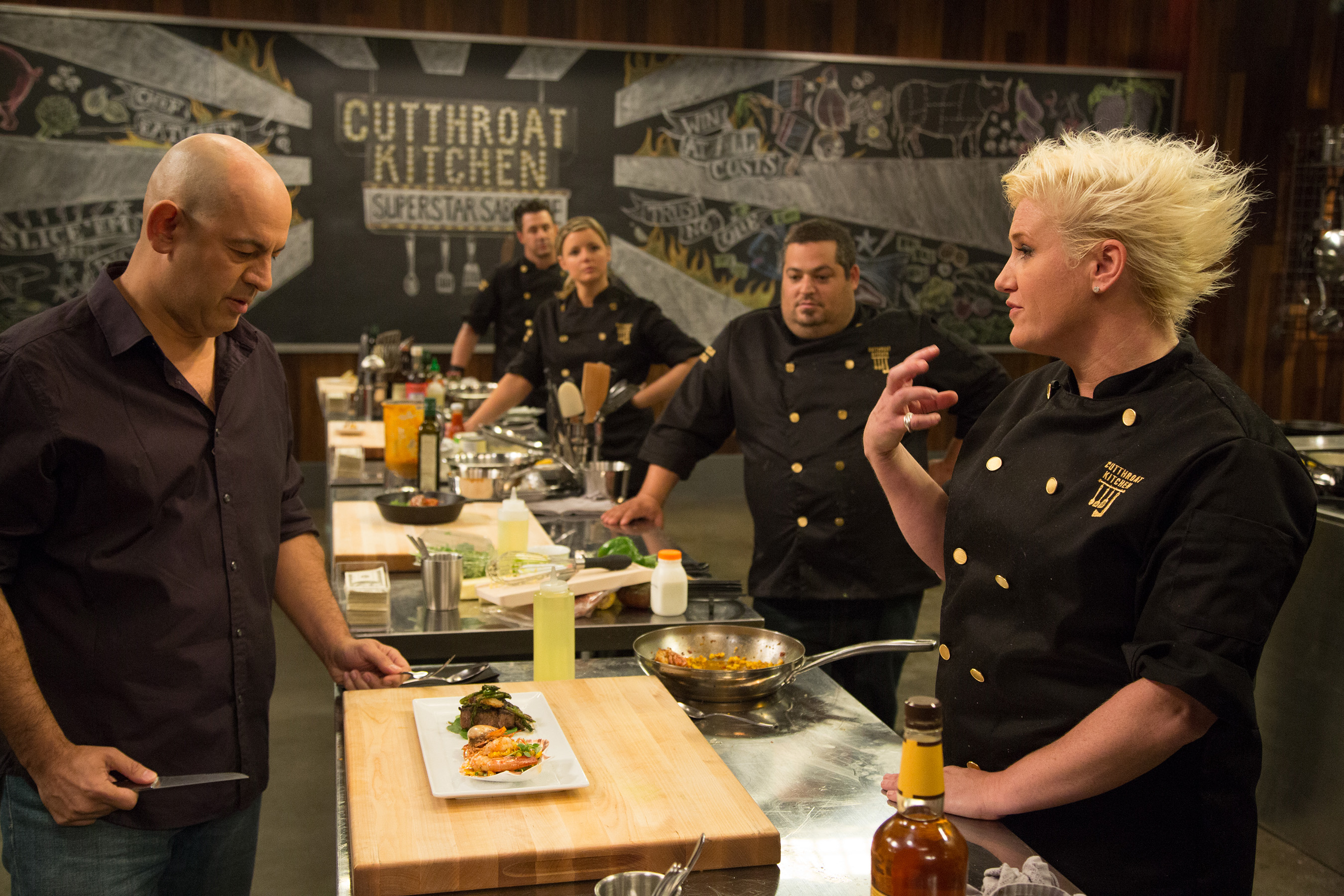 Sixteen Culinary All-Stars Compete In First-Ever Cutthroat Kitchen ...