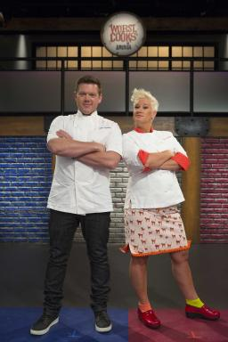 Tyler Florence and Anne Burrell Face-Off in Food Network's Worst Cooks in America