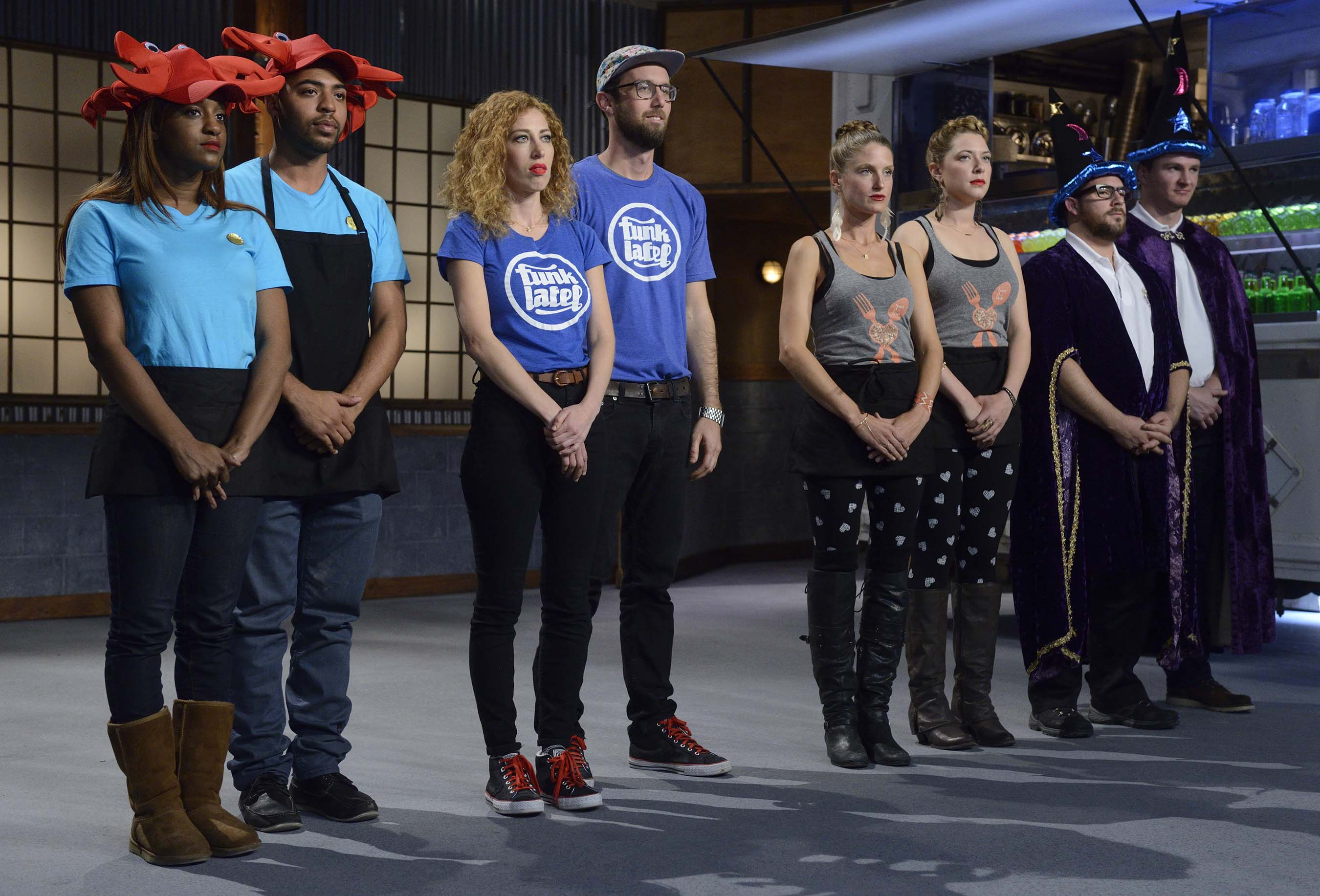 Teams await judges' decision on Food Network's Food Truck Face Off