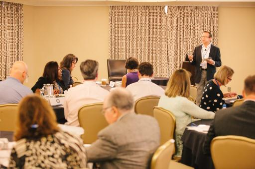 Scenes from the 2014 Summit – Dr. Sam Toney presents.