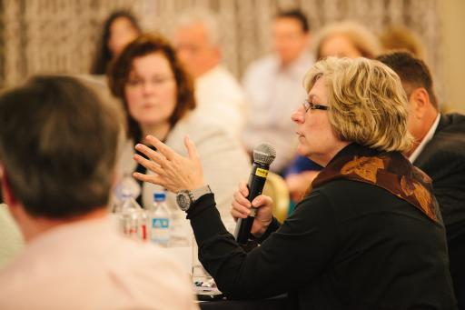 Scenes from the 2014 Summit –  Q&A Session.