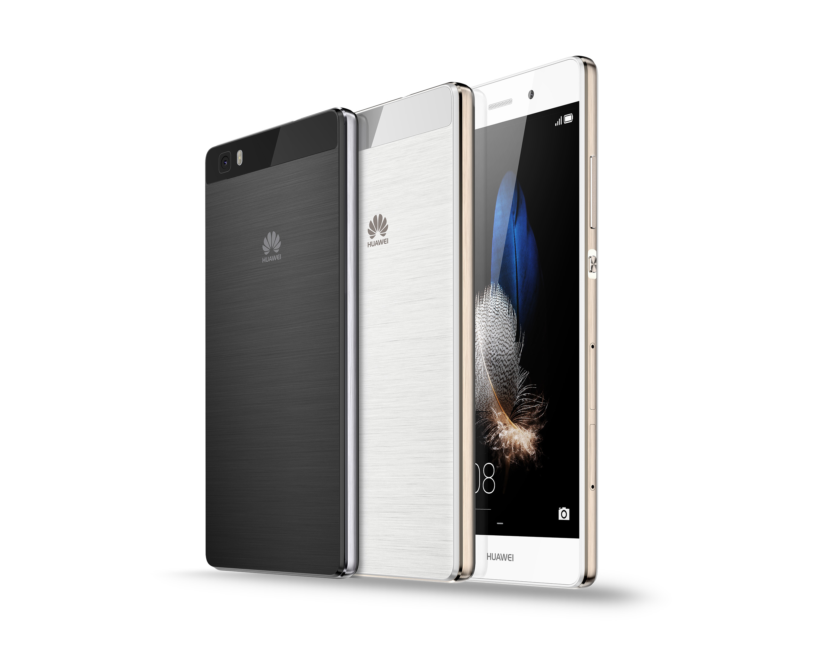 huawei brings great design within reach with new unlocked p8 lite smartphone. Black Bedroom Furniture Sets. Home Design Ideas
