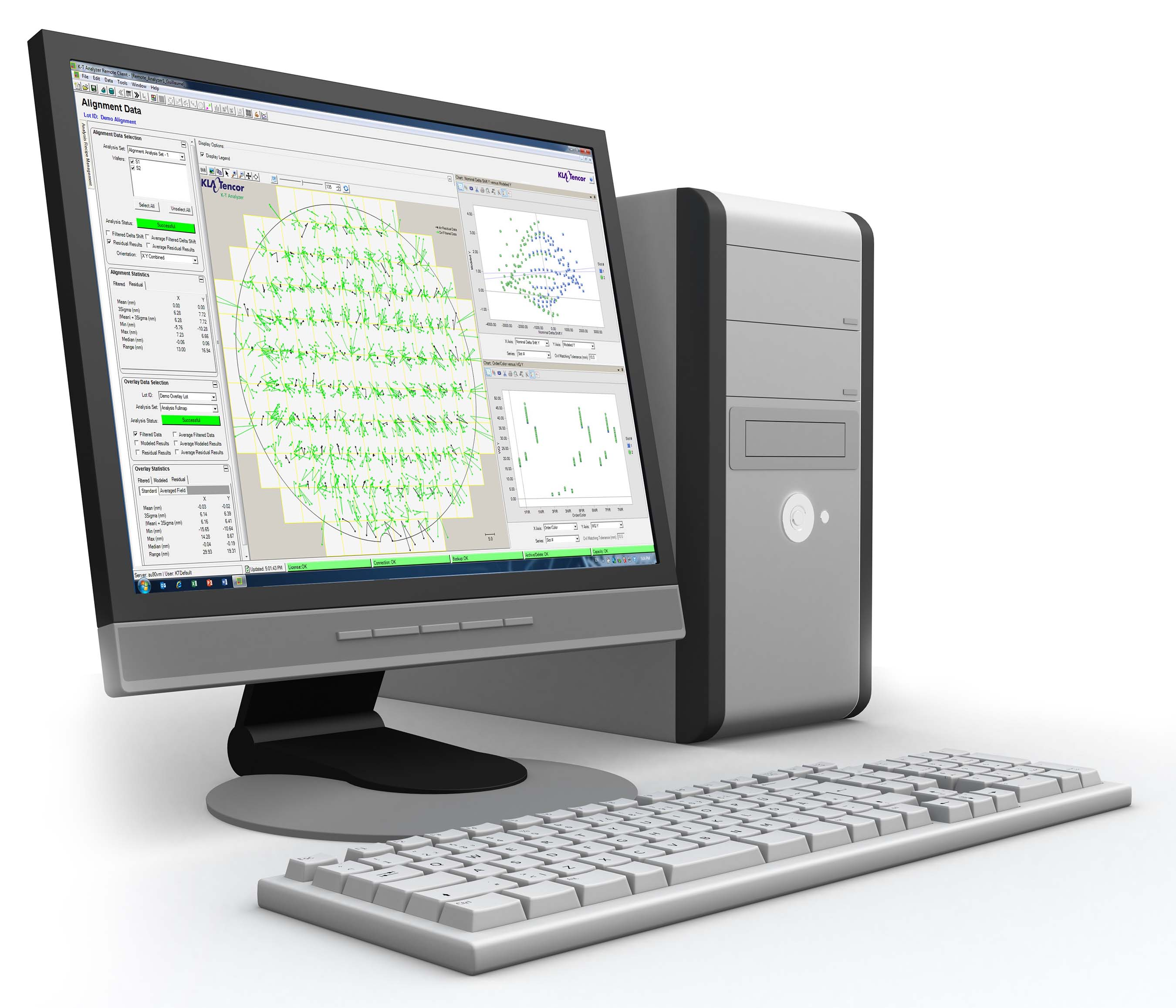 K-T Analyzer(R) 9.0 from KLA-Tencor offers a flexible solution for metrology data analysis and process corrections, enabling advanced IC patterning control
