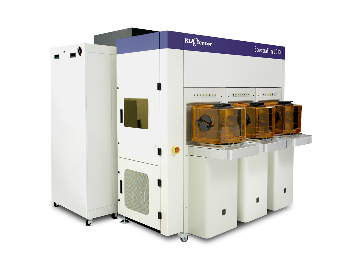KLA-Tencor's SpectraFilm™ LD10 film metrology system produces reliable, high-precision film measurements for the broad range of process layers used to fabricate complex IC device structures, such as FinFETs and 3D NAND.