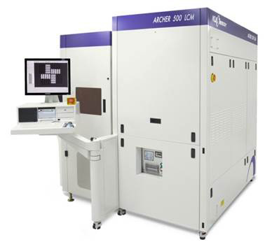 KLA-Tencor's Archer™ 500LCM overlay metrology system offers both imaging and scatterometry measurement technologies to produce accurate overlay error data for leading-edge IC development and high volume production.