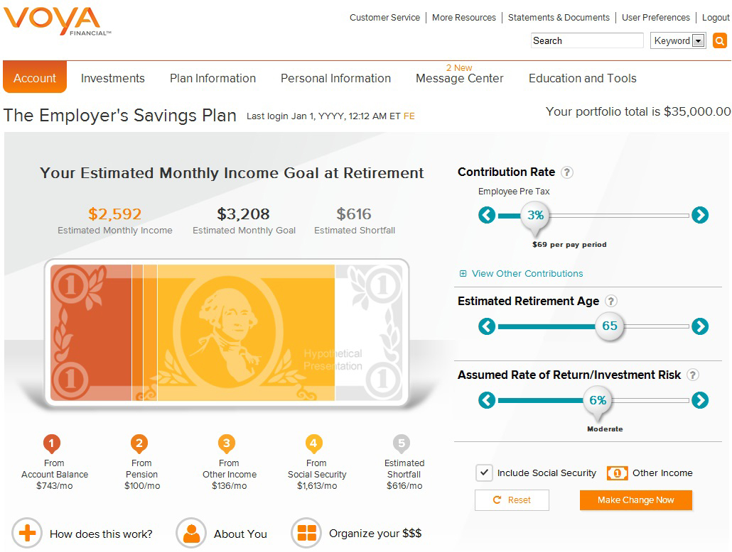 Voya Financial is helping individuals shift their mindset from accumulation to income with new myOrangeMoney digital experience.