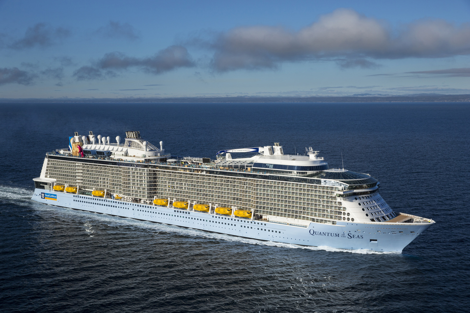 Royal Caribbean's Quantum of the Seas, the world's first smartship, has arrived to the New York area bringing with her a wave a unprecedented firsts at sea