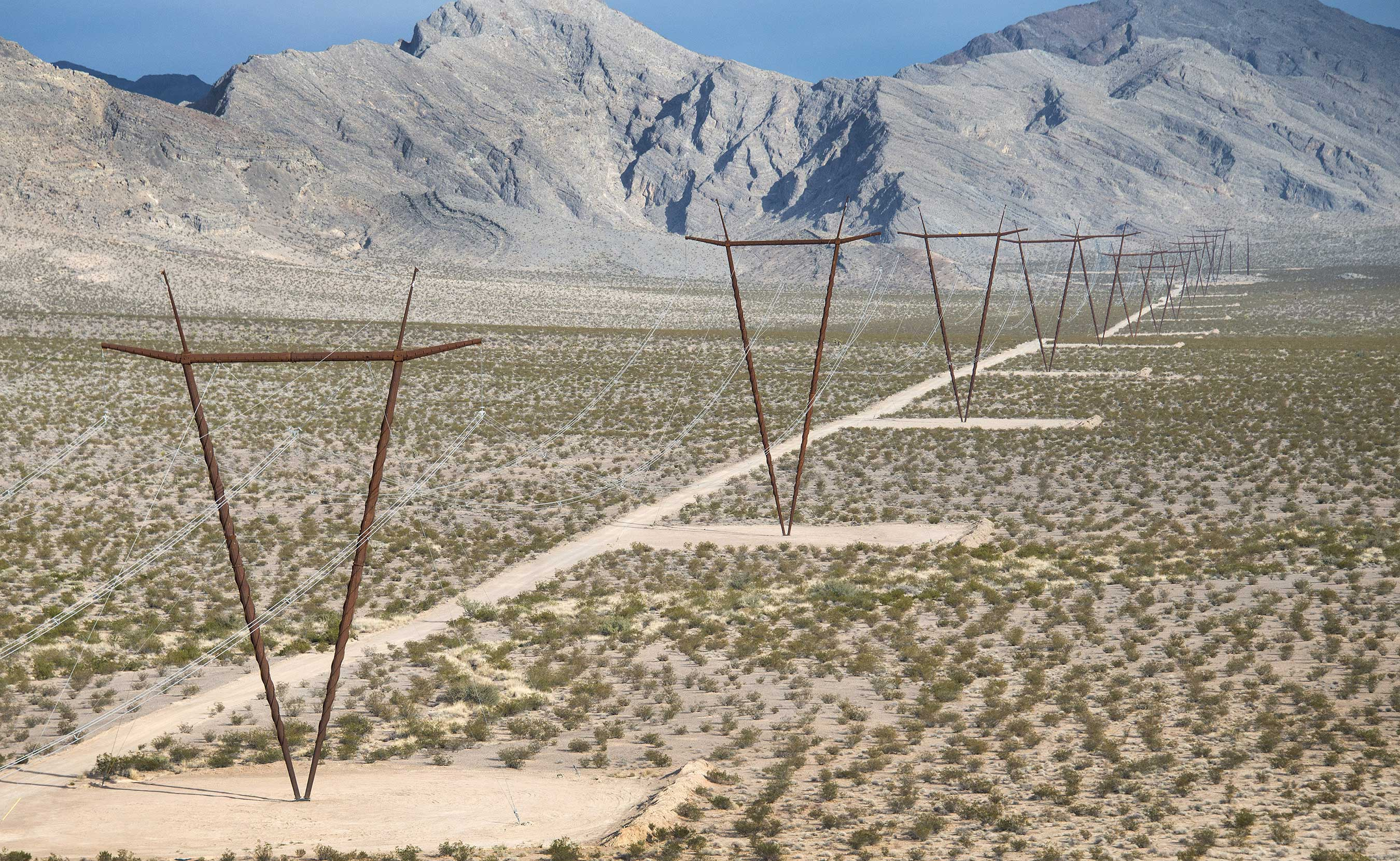 ONLine - The One Nevada Line connects our northern and southern electric systems, creating opportunities for renewable energy and operating efficiencies.