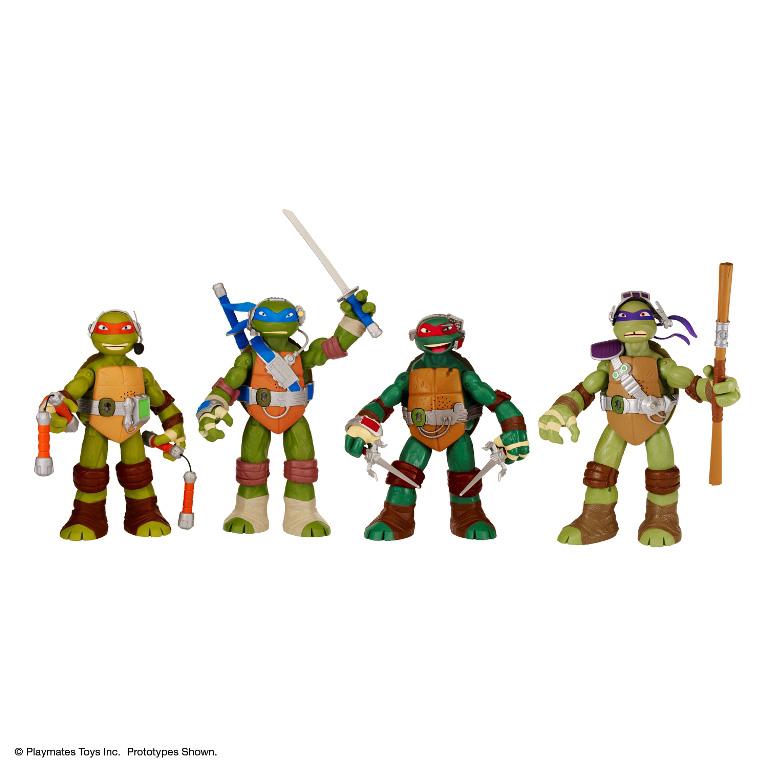 Best Ninja Turtle Toys : Turtle power