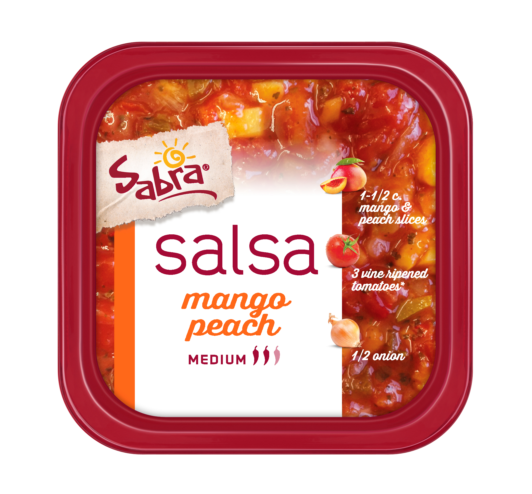 Sabra Mango Peach Salsa