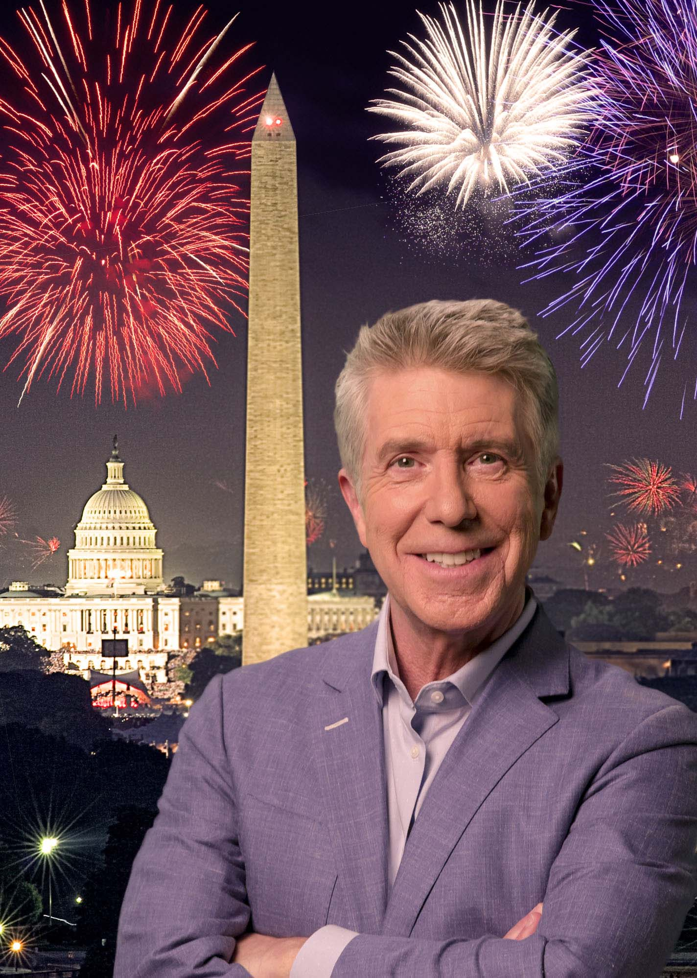 PBS' A CAPITOL FOURTH Welcomes Back America's Favorite Host Tom Bergeron To Lead The National Independence Day Celebration Live From The U.S. Capitol!