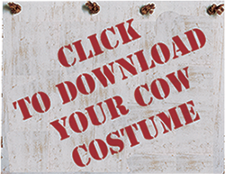 photo regarding Printable Chick Fil a Cow Costume named Chick-fil-A Invitations Prospective buyers in direction of Present Their Areas, Consume for